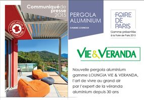 2015 - Pergola aluminium, l'art de vivre au grand air